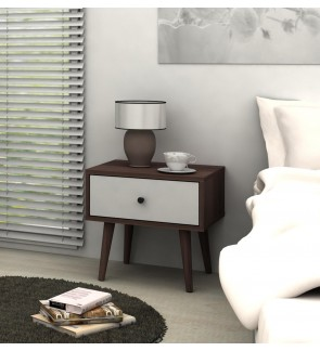 DéTrend - Alida Side Table , Suitable for Living Room & Bedroom. Simple Retro & Great Design. AFFORD