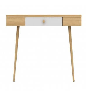 ALIDA DESK - WALNUT + WHITE