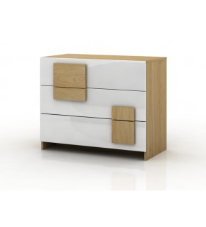 DéTrend - 3 Drawer Chest of Drawer Model 5111-Simple Design - Great Item for Bedroom - LIFESTYLE !!